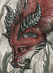 ACEO Terrorwolf666