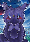ACEO BloodhoundOmega